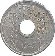 1 centime - Etat Français – avers