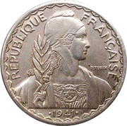 20 centimes – avers