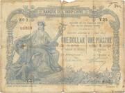 1 Dollar / 1 Piastre – avers
