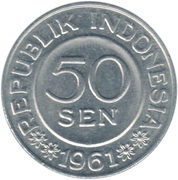 50 sen – avers