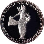 500 rupiah (Indépendance) – revers