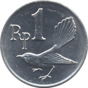 1 rupiah – avers