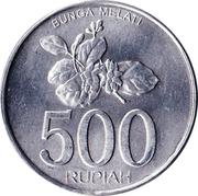 500 rupiah -  revers