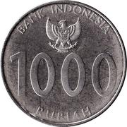 1 000 rupiah – avers