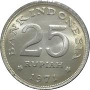 25 rupiah -  revers