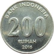 200 rupiah -  revers