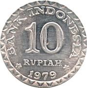 10 rupiah (FAO) – revers