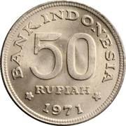 50 rupiah – revers