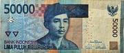 50,000 Rupiah -  avers