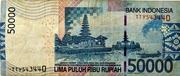50,000 Rupiah -  revers