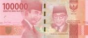 100000 Rupiah – avers