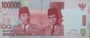 100,000 Rupiah – avers