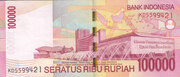 100000 Rupiah – revers