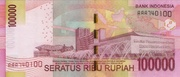 100,000 Rupiah – revers