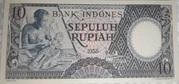 10 Rupiah – avers
