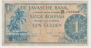 1 Gulden/Roepiah  1948 - – avers