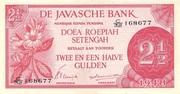 2½ Roepiah/Gulden – avers