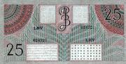 25 Gulden (De Javasche Bank) – revers