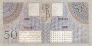 50 Gulden/Roepiah – revers