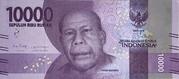 10000 Rupiah – avers
