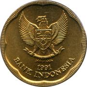 500 rupiah – avers