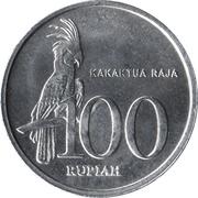 100 rupiah -  avers