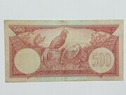 500 Rupiah – revers