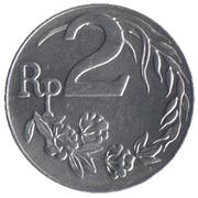 2 rupiah – avers