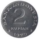 2 rupiah – revers