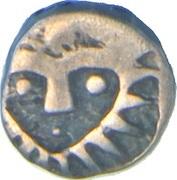 1/16 Rupee - Shah Alam - II – avers