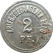 2 Pfennig - Ingolstadt (Kriegsgefangenenlager) – revers
