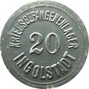 20 Pfennig - Ingolstadt (Kriegsgefangenenlager) – avers