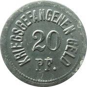 20 Pfennig - Ingolstadt (Kriegsgefangenenlager) – revers