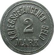 2 Mark - Ingolstadt (Kriegsgefangenenlager) – revers