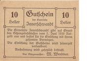 10 Heller (Innerschwandt) – avers