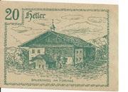 20 Heller (Innerschwandt) – revers