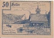 50 Heller (Innerschwandt) – revers