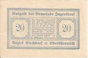 20 Heller (Inzersdorf) – avers