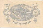 20 Heller (Inzersdorf) – revers