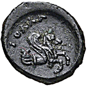 Bronze Æ10 (Iolla) – revers