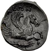 Bronze Æ17 (Iolla) – revers
