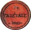 10 gazettae (dénomination en grec) – revers