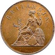 1 obol - George III – revers