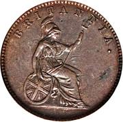 1 lepton - William IV / Victoria -  revers