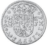 60 para - George III – revers