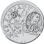 60 para - George III – avers