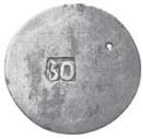 50 para - George III  – revers