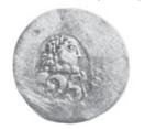 25 para - George III – avers