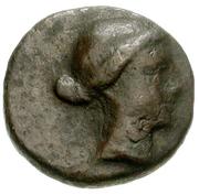 Bronze Æ10 (Ioulis) – avers