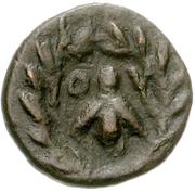 Bronze Æ10 (Ioulis) – revers